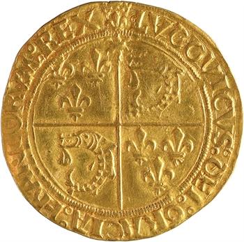 Louis XII, écu d'or au soleil du Dauphiné, Crémieu