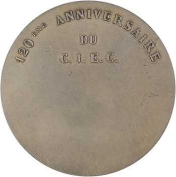 Ve République, 120e anniversaire du Comité Intersyndical des Élections Consulaires, par Cochet, 1867-1967 Paris
