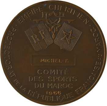 Maroc, Comité des sports, par J. Vernon, 1956 Paris