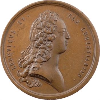 Louis XV, les préliminaires de la Paix de Paris, 1727 Paris