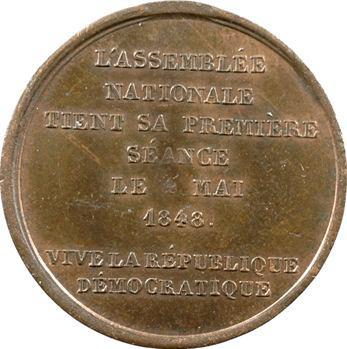 IIe République, Première séance de l'Assemblée nationale, 1848 Paris