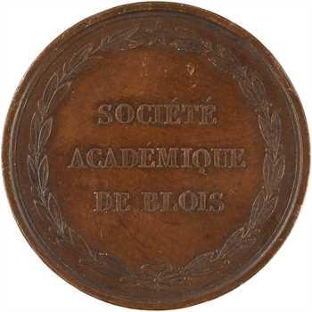 Seconde Restauration, Société Académique de Blois, par Barre, s.d.
