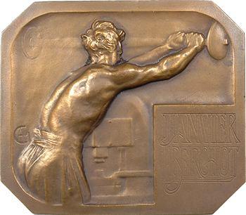 Charpentier (A. L. M.) : Duval et Janvier, réduction de médailles, s.d (c.1900) Paris