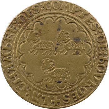 Berry, jeton de la chambre des comptes de Bourges, s.d