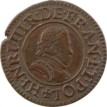 Henri III, denier tournois, 1578 Paris