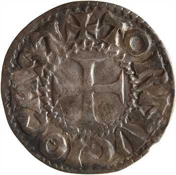 Tournus (abbaye de), anonymes, denier