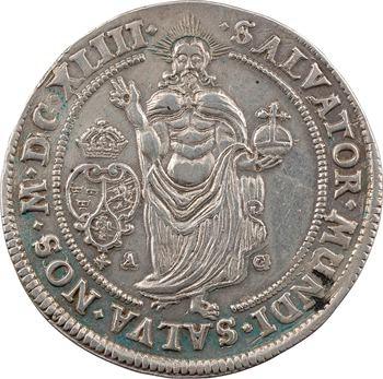Suède (royaume de), Christine, riksdaler, MDCXLIII (1643) Stockholm