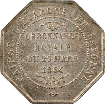 Louis-Philippe Ier, Caisse d'épargne de Bayonne, par Numa Louvet, 1834 (postérieur) Paris