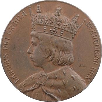 Charles VII, sacre à Reims le 17 juillet 1429, par Begeer, 1901 Utrecht