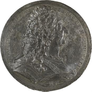Louis XIV, Claude-Louis-Hector duc de Villars, par Duvivier, s.d. (1714) Paris