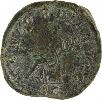 Balbin, sesterce, Rome, 238