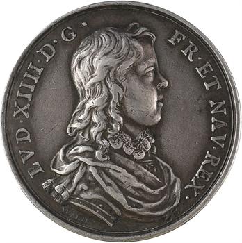 Louis XIV et Anne d'Autriche, par Jean Warin, s.d. (postérieure) Paris