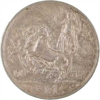 Italie, Victor-Emmanuel III, lire (lira), 1915 Rome