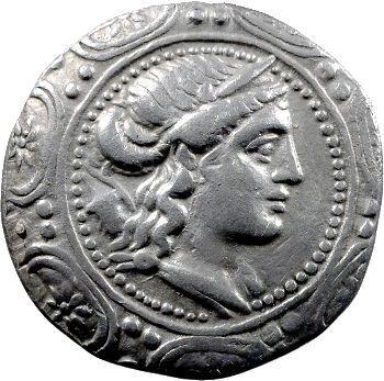 Macédoine, tétradrachme, Amphipolis, 158-150 av. J.-C.