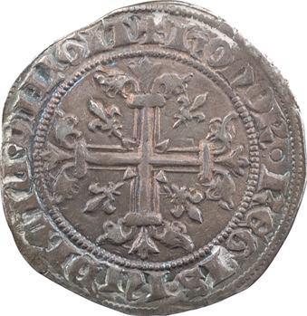 Italie, Naples (royaume de), Charles II d'Anjou, carlin ou gillat (gigliato), s.d. Naples