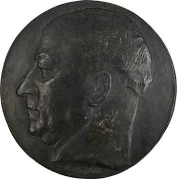 Pommier (A.) : Pierre-Étienne Flandin, grande fonte uniface, s.d