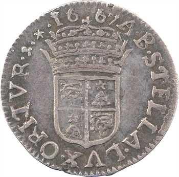 Comtat Venaissin, Alexandre VII et le légat Flavio Chigi, luigino, 1667