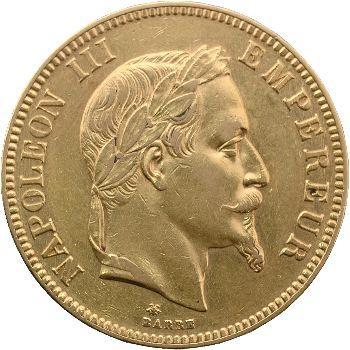 Second Empire, 100 francs tête laurée, 1869 Paris