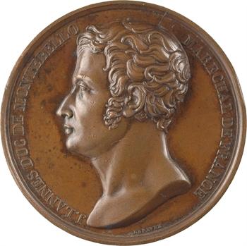 Premier Empire, la mort du maréchal Lannes, par Lefèvre, 1809 Paris