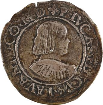 Italie, Masserano (comté de), Pierre Lucas II Fieschi, teston, s.d (1528-1548)