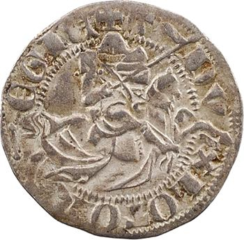 Lorraine (duché de), Thiébaut II, quart de gros dit spadin, s.d. Nancy