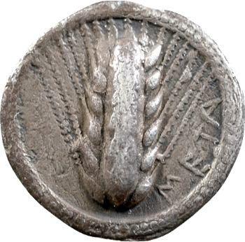 Lucanie, drachme, Métaponte, c.550-450 av. J.-C.