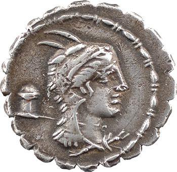 Papia, denier serratus, Rome, 79 av. J.-C.