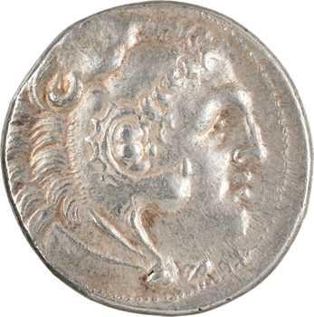 Macédoine, au nom d'Alexandre le Grand, tétradrachme, Milet, c.295-275 av. J.-C