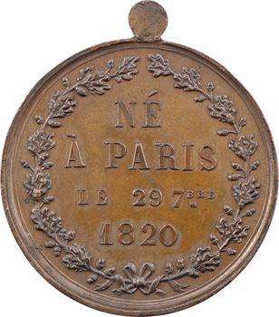 Naissance du Duc de Bordeaux, par Houzelot, s.d. (c.1840)