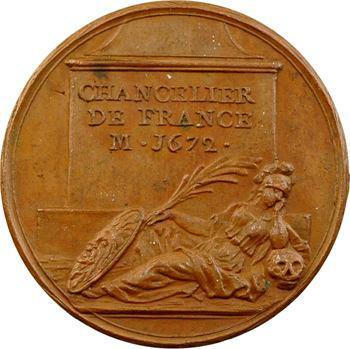 Louis XIV, Pierre Séguier, Chancelier de France, par J. Dassier, s.d. Genève