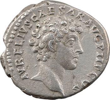 Antonin le Pieux et Marc-Aurèle César, denier, Rome, 140