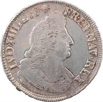 Louis XIV, écu aux palmes, 1694 Tours