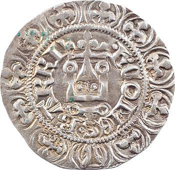 Bar (comté de), Henri IV, gros à la couronne, imitation de celui de Philippe VI de France, c.1339 Saint Michel