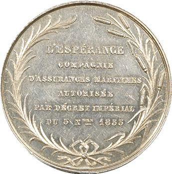 L'Espérance, assurances maritimes par Girault, 1853 Paris