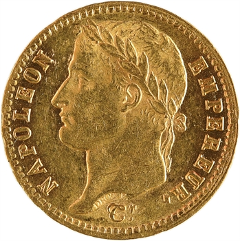 Premier Empire, 20 francs Empire, 1813 Paris