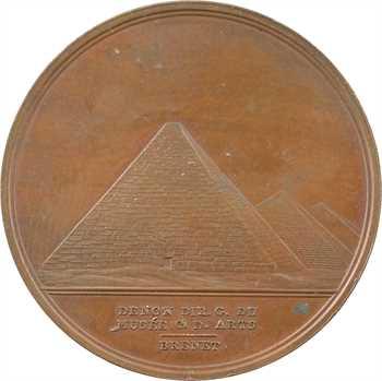 Égypte, conquête de la Basse Égypte, grand module, An VII (1798)