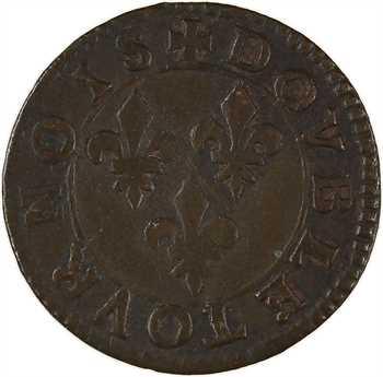 Ardennes, Château-Regnault (principauté de), François de Bourbon, double tournois 18e type, s.d. Château-Regnault