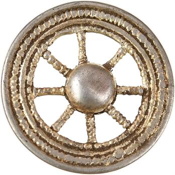 Gaule, rouelle en électrum, c.IIe-Ier s. av. J.-C