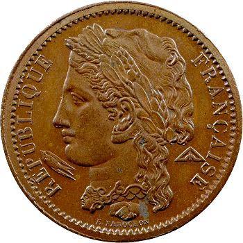 IIe République, essai de 10 centimes par Farochon, 1848 Paris