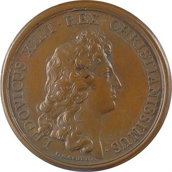 Louis XIV, combat du Saint Gotthard contre les turcs, par Mauger, 1664 Paris