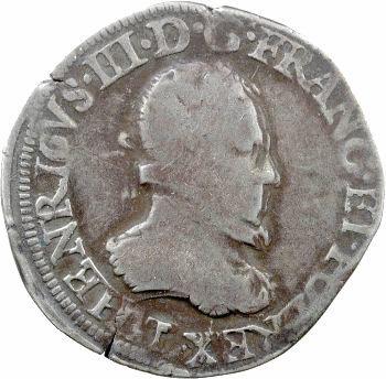 Henri III, teston 4e type, 1575 Nantes