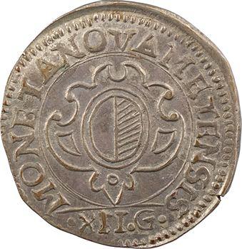 Metz (ville de), franc messin de 12 gros, 1621 Metz