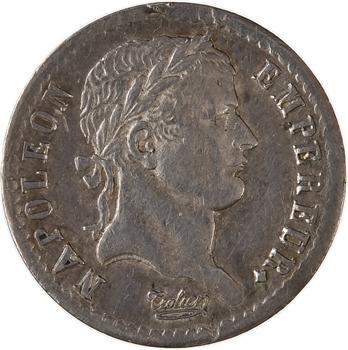 Premier Empire, demi-franc République, buste fin, 1808 Strasbourg