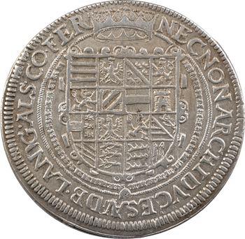 Alsace (landgraviat d'), Rodolphe II, thaler, 1606 Ensisheim