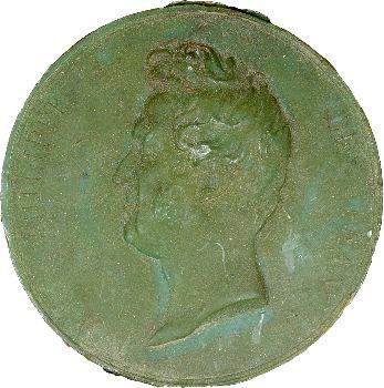 Louis-Philippe Ier, lettres de naturalisation avec grand sceau de cire verte