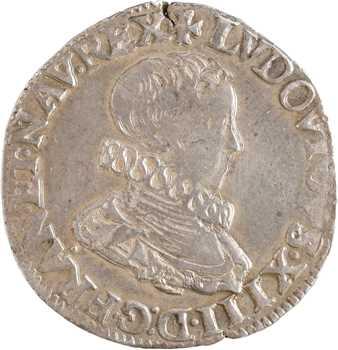 Louis XIII, demi-franc 5e type, 1615 Paris