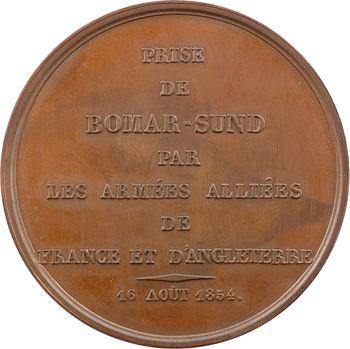 Russie/France, prise de Bomarsund par les troupes anglo-françaises le 16 août, 1854 Paris