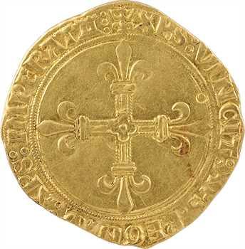 Louis XII, écu d'or au soleil, Tours