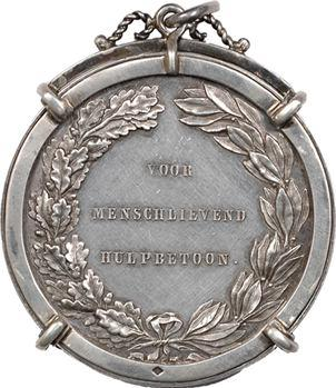 Pays-Bas, Guillaume III, récompense pour aide humanitaire, s.d. (c.1860)