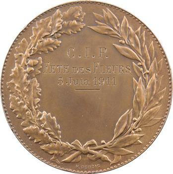 Cariat (L.) : La Seine fleuve (fête des fleurs), 1911 Paris